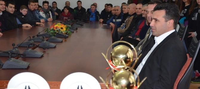 Ристе Пандев избран за најдобар спортист во општина Струмица за 2014 година